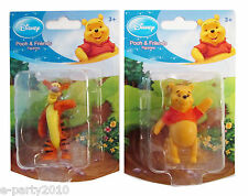 Pooh Tigger Figurines ~ Cake CupcakeToppers Birthday Party Supplies toys