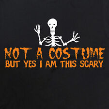 Halloween Fancy Dress - Men & Women's T-Shirt (Not a costume but yes i'm scary)