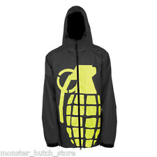 BRAND NEW WITH TAGS Grenade BOMB Snowboard Jacket BLACK MEDIUM-XLARGE LIMITED