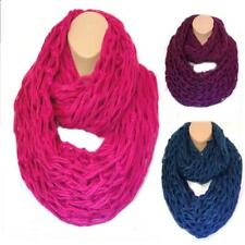 THE ULTIMATE Chunky Knit Huge XL Circle Loop Infinity Scarf Snood Super Slouchy!