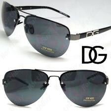 NEW MENS WOMENS DG AVIATOR RIMLESS SUNGLASSES EYEWEAR SHADES DESIGNER FASHION 7
