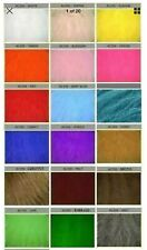 Luxury Long Pile Faux Fur Fabric - Various sizes & Colours