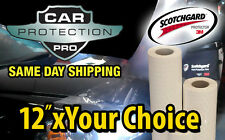 "12""x24"" to 12""x111"" 3M Scotchgard paint protection film - size options Low price"