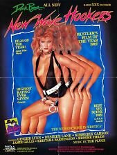 NEW WAVE HOOKERS Movie Poster XXX Exploitation Sexy