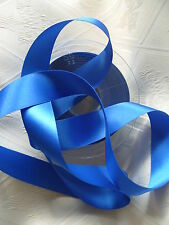Double Faced Satin Ribbon Berisfords Royal Blue Colour 243 Various widths