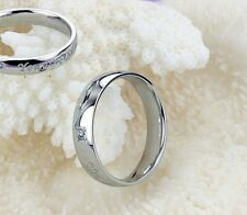 men Titanium  Steel  you are perfect  silver finger rings free to UK gift set
