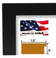 Wholesale Lots 1.5 Black Carbon Black   Poster Picture frame Wall decor 13 in wi