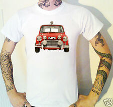 Austin Mini Cooper S Rally T-Shirt British Leyland 1964-1968 Classic Car