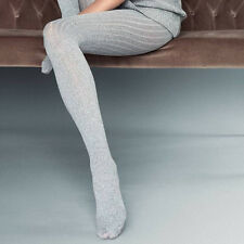 "Thick Opaque Tights ""Costina II"" 60 DEN Knitted Ribbed"
