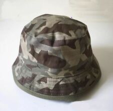 Boys Toddler Child Reversible Camouflage Camo Army Bucket Sun Hat Cap Wide Brim