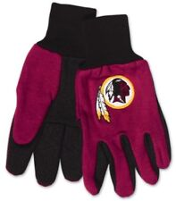NFL UTILITY Gloves with Rubber Dot Palm Grip WASHINGTON REDSKINS