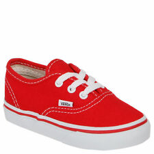 Genuine Kids/Toddler Vans Authentic Red  SALE £19.99