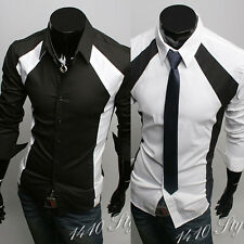 2015 Collection New Mens Suit Sexy Formal Casual Slim Fit Dress Shirt-MSS