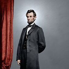 President Abraham Lincoln Color Tinted photo Civil War 4271644089