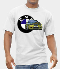 BMW M POWER LOGO NEW T-SHIRT FRUIT OF THE LOOM print by EPSON