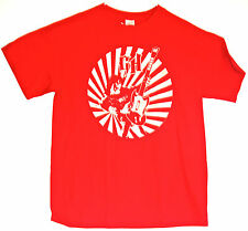 Small Large NEW w/ TAGS tshirt GUITAR HERO GH licensed II 2 red off white logo