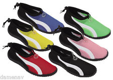 WOMEN'S SLIP ON WATER SHOES AQUA SOCKS BEACH, POOL, EXERCISE, YOGA, DANCE