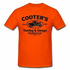 Cooters Garage funny race car towing tow truck dukes hazzard  T-SHIRT
