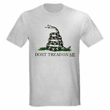 DONT TREAD ON ME GARDEN STATE FLAG TEA PARTY T-SHIRT