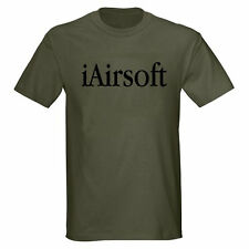 iAirsoft AIRSOFT ASSAULT RIFLE GUN PISTOL AR15 M16 T-SHIRT