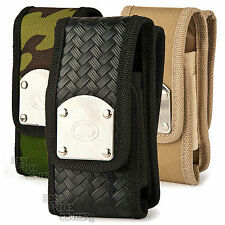 Naztech Belt Gladiator Tough Pouch Holster Cover Case for Samsung Galaxy S 4 IV