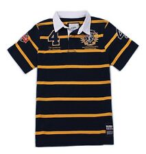 KEVINGSTON VINTAGE AUSTRALIA NO.4 RUGBY POLO JERSEY MULTIPLE SIZE