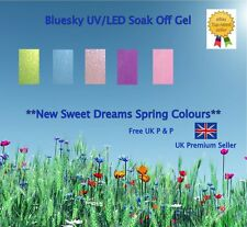 "NEW Spring 2013 ""Sweet Dreams"" Bluesky Collection + IBN Crystal UV/LED Gels"
