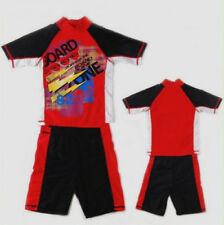 Boys Child Rash Suit Rash Top Trunks Rashi SET Bathers Swimsuits Swimwear Sz8-14