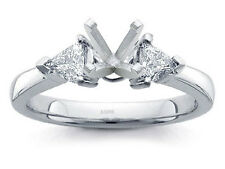 PALLADIUM PRONG DIAMOND ENGAGEMENT RING SOLITAIRE SETTING