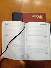Academic diary 2014-2015 A5 one week to a view hard case bound student -18months
