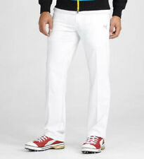 PUMA Golf Mens Solid 5 Pocket Golf Tech Pants    White    NWT select your size