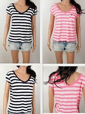 NWT HOLLISTER Women's T Shirt Laguna Hills Easy Fit By Abercrombie