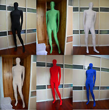 Full Body Lycra Spandex Skin Suit Catsuit  Zentai Costumes Halloween Party S-XXL