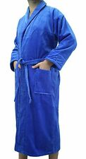 Shawl Style Terry Adults Bathrobe, Bath Robe for Women and Men with embroidery