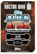 Dr Who Alien Attax Trading Cards 201 - 240 Cards Choose Your Card