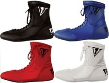 TITLE Low Top Boxing Shoes Boots Kickboxing Training Gear Size Youth & Adult