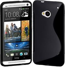 HTC One Cimo S-Line Flexible Back Case Cover