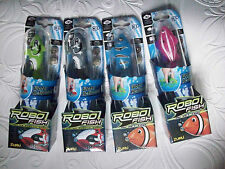 ZURU ROBO FISH WATER ACTIVATED ROBOT 6 TYPES TO CHOOSE + FREE SPARE BATTERIES BN