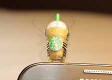 Starbucks Coffee Cup Anti Dust Headphone iPhone Galaxy Note S4 S3 S2 S1 5 5S 3GS