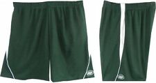 New York Jets NFL Team Apparel Polyester Shorts Team Colors Big Sizes 3X & 4X
