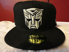 Brand New era Transformers Autobot Dark of the Moon silver gray white black hat!