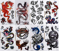 Tatouage temporaire Dragons Tattoo