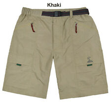 Mens Wicking Hiking Backpacking Outdoor Wear Causal Shorts Cargo Pants NWT