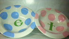 Ceramic Baby plates from Colors Express (Blue or Pink)