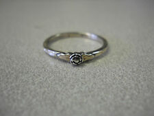Ladies Black Hills Sterling Silver Small Rose Ring