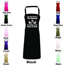 Could Have Played For The Diamonds Bbq Apron Novelty Gift Funny Chefs Cooking
