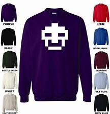 Retro Space Invaders Kids Jumper Sweatshirt Birthday Gift Gaming Top Style 15