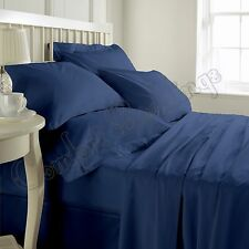 1000TC Hotel Nevy Blue Brand New Bedding Set Collection In 100% Egyptian Cotton