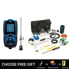 KANE 455 CPA1 Kit, Flue Gas Analyser BNIB - Free Bahco Tool Kit or Flow Cup
