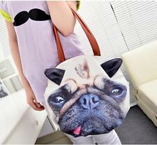 024 Woman personalized designs cat and dog animal prints Shoulder Messenger Bag